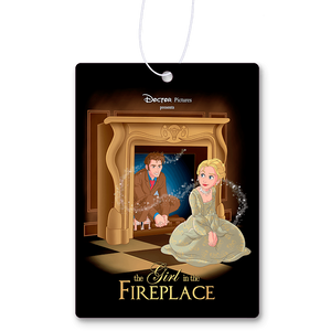 The Girl In The Fireplace Air Freshener