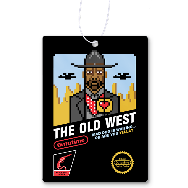 The Old West Air Freshener
