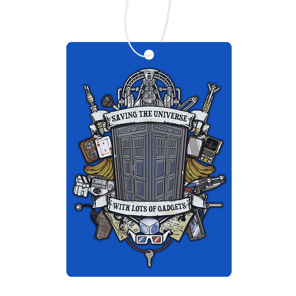 Timelord Crest  Air Freshener