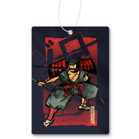 Traditional Samurai Zoro Air Freshener