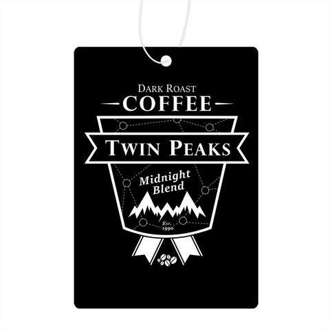 Twin Peaks Dark Roast Air Freshener
