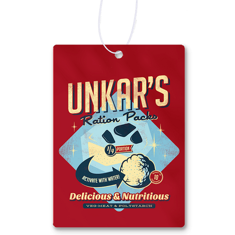 Unkar's Ration Packs Air Freshener
