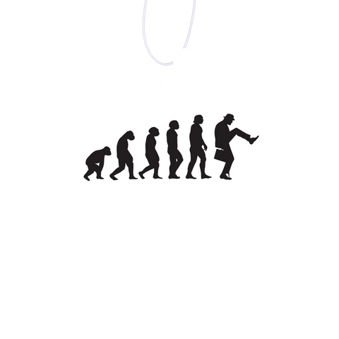 Walking Evolution Air Freshener