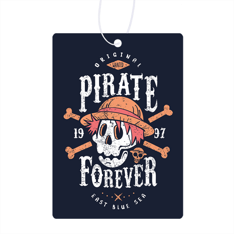 Wanted Pirate Forever Air Freshener