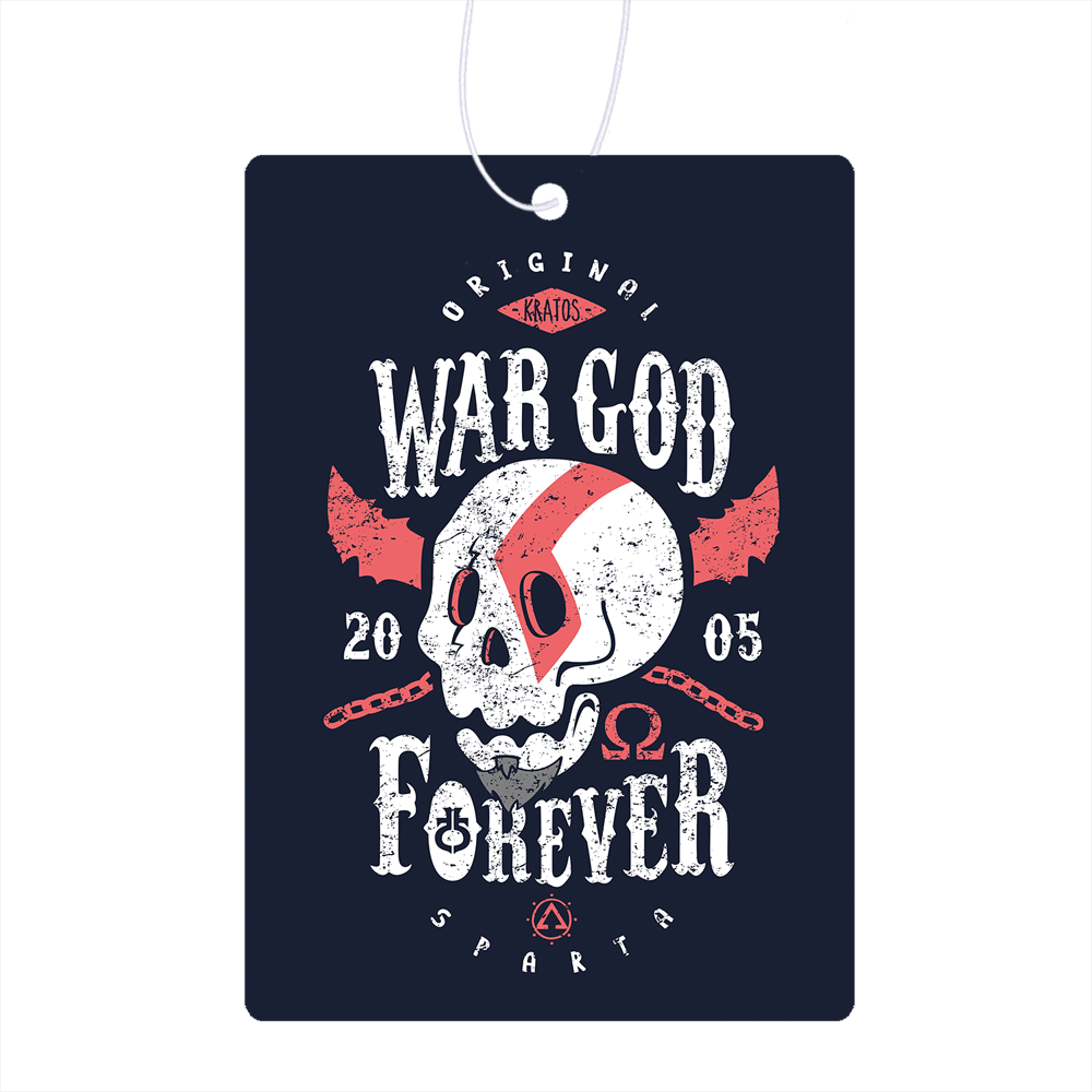 War God Forever Air Freshener