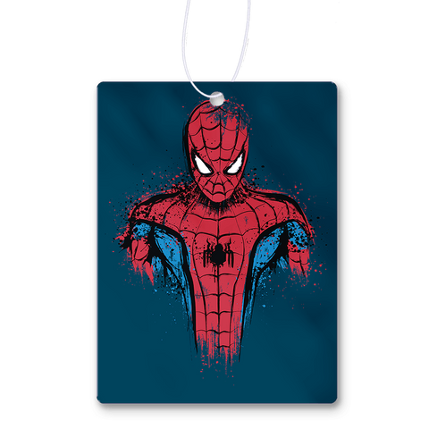 Web Warrior Air Freshener