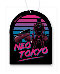 Welcome To Neo Tokyo Air Freshener