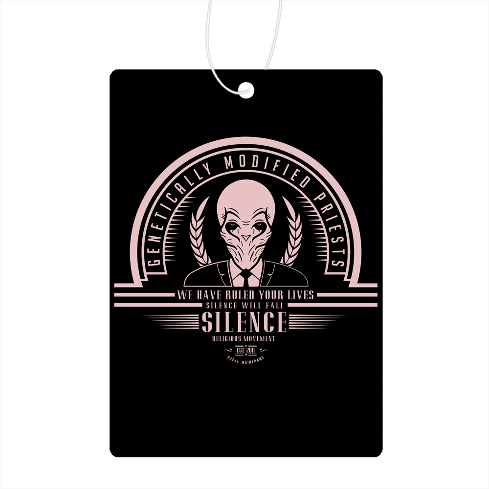 Who Villains Silence Air Freshener