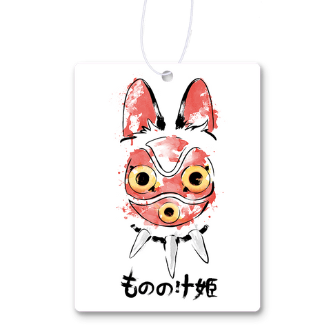 Wolf Girl Mask Air Freshener