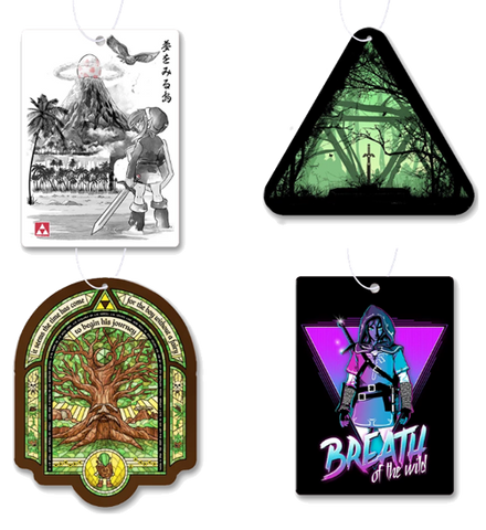 Zelda Air Freshener 4 Pack #2