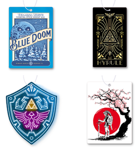 Zelda Air Freshener 4 Pack