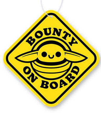 Bounty on Board Air Freshener