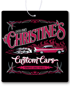 Christine's Custom Cars Air Freshener