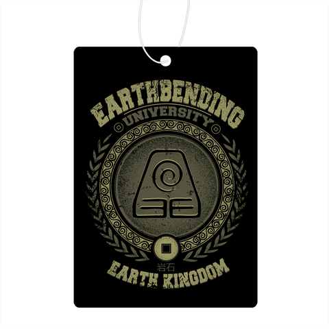 Earthbending University Air Freshener
