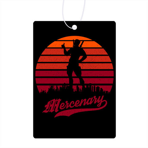 Mercenary Sunset Air Freshener