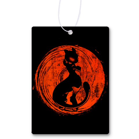 Red Sun Mewtwo Air Freshener