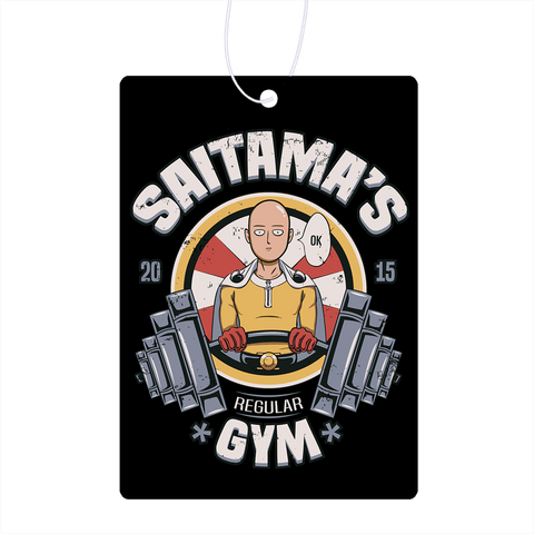 Saitamas Gym Air Freshener