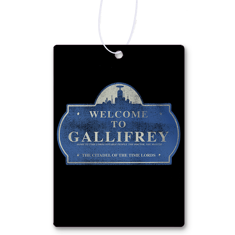 Welcome To Gallifrey Air Freshener