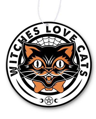 Witches Love Cats Air Freshener