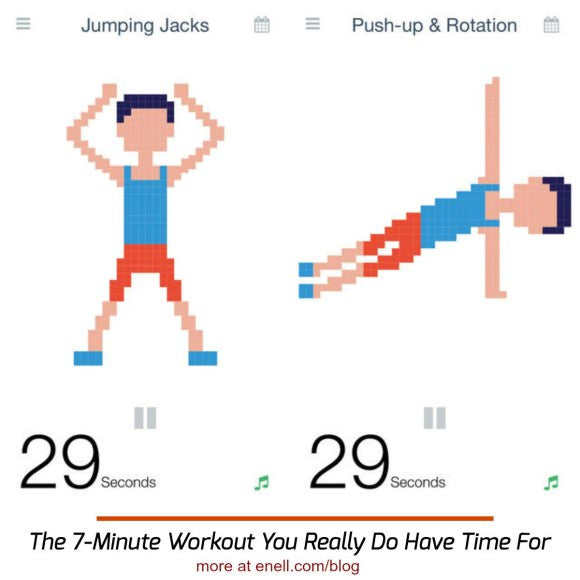 The 7-Minute Workout You Really Do Have Time For