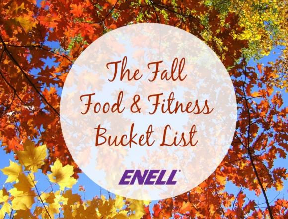 The Fall Food and Fitness Bucket List