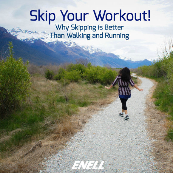 It's Time to Skip Your Workout! Skipping is Better Than Walking and Running