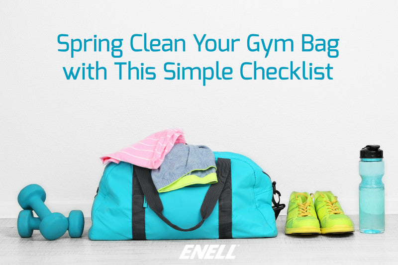 Spring Clean Your Gym Bag with This Simple Checklist