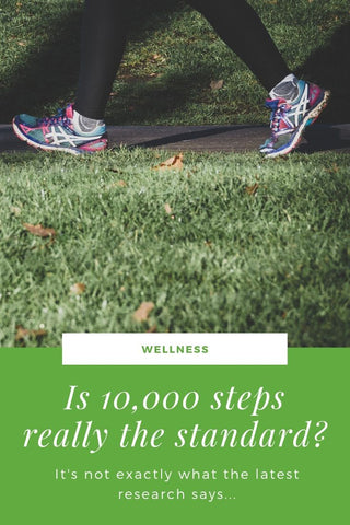 Is 10,000 steps a day necessary