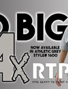 RTP Apparel Announces the Addition of Size 4X in Athletic Grey