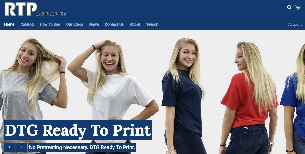 RTP Apparel Announces the Launch of New, Faster eCommerce Store