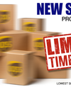 New PROMOTIONAL Shipping Rates for Limited Time