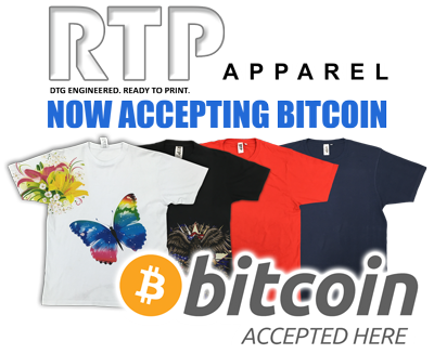 RTP Apparel Now Accepting Bitcoin