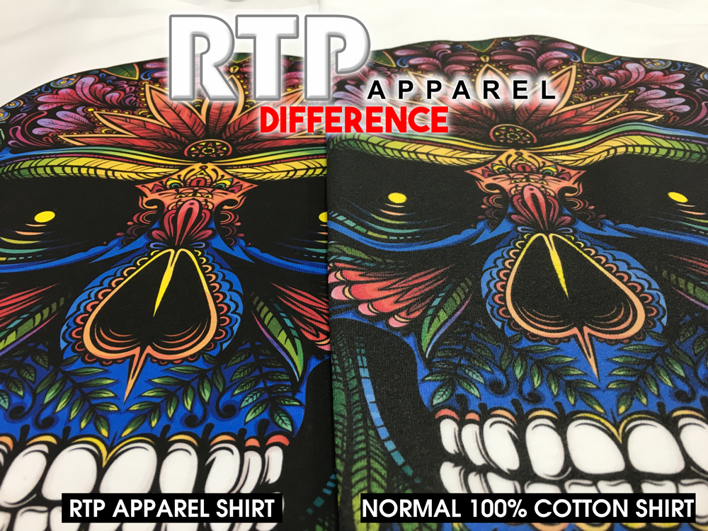 The RTP Apparel Difference with Epson OEM inks on White Shirts