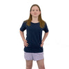 Style 1600 - YOUTH NAVY DTG Ready To Print Crew Neck T-Shirt