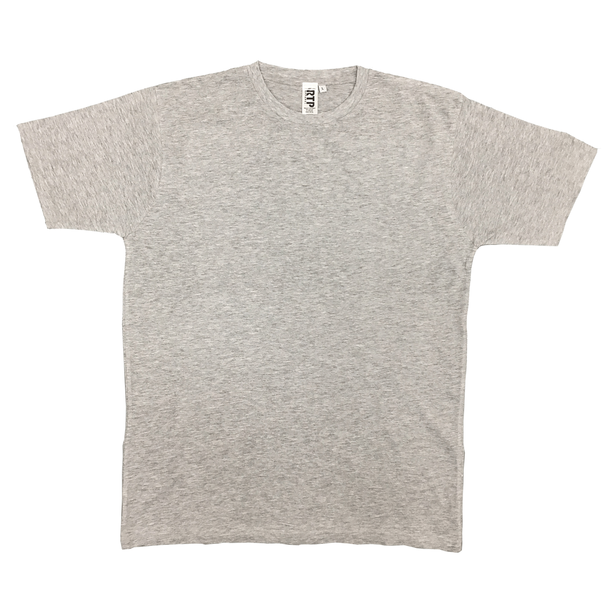 Athletic Grey - 1600 - DTG Ready To Print Crew Neck T-Shirt
