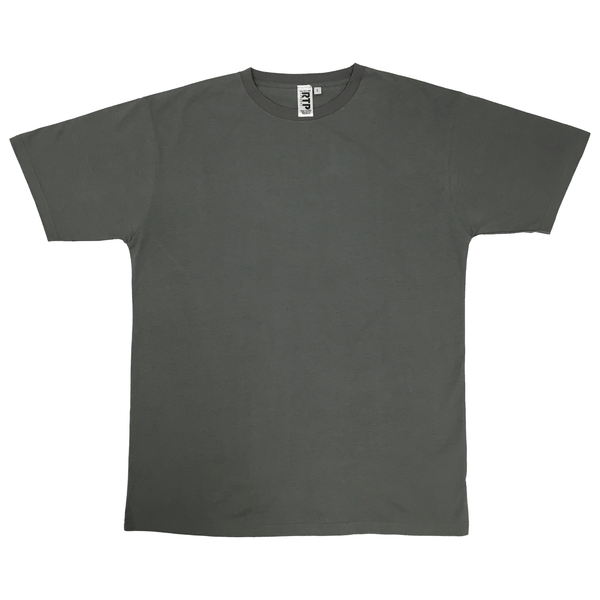 Style 1600 - Charcoal - DTG Ready To Print Crew Neck T-Shirt