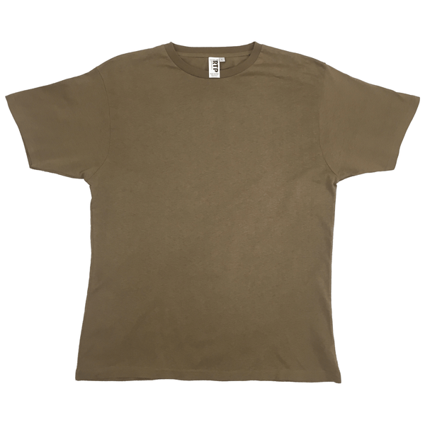 Style 1600 - Coyote Brown - DTG Ready To Print Crew Neck T-Shirt