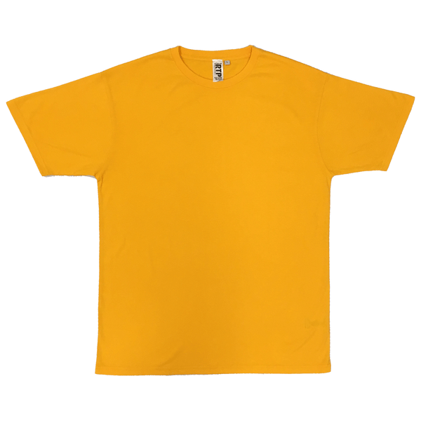 Style 1600 - Gold - DTG Ready To Print Crew Neck T-Shirt