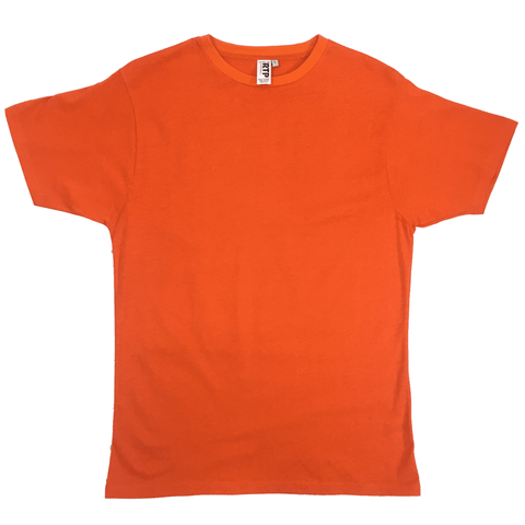 Style 1600 - Orange - DTG Ready To Print Crew Neck T-Shirt