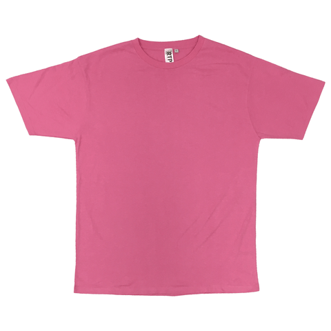 Style 1600 - Pink - DTG Ready To Print Crew Neck T-Shirt