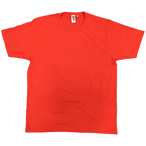 Style 1600 - Red - DTG Ready To Print Crew Neck T-Shirt
