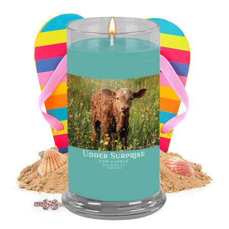 Bahama Mama Jewelry Cow Candle