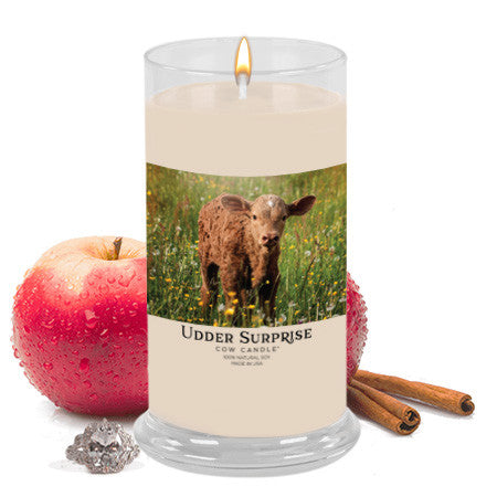 Cinnamon Apple Jewelry Cow Candle