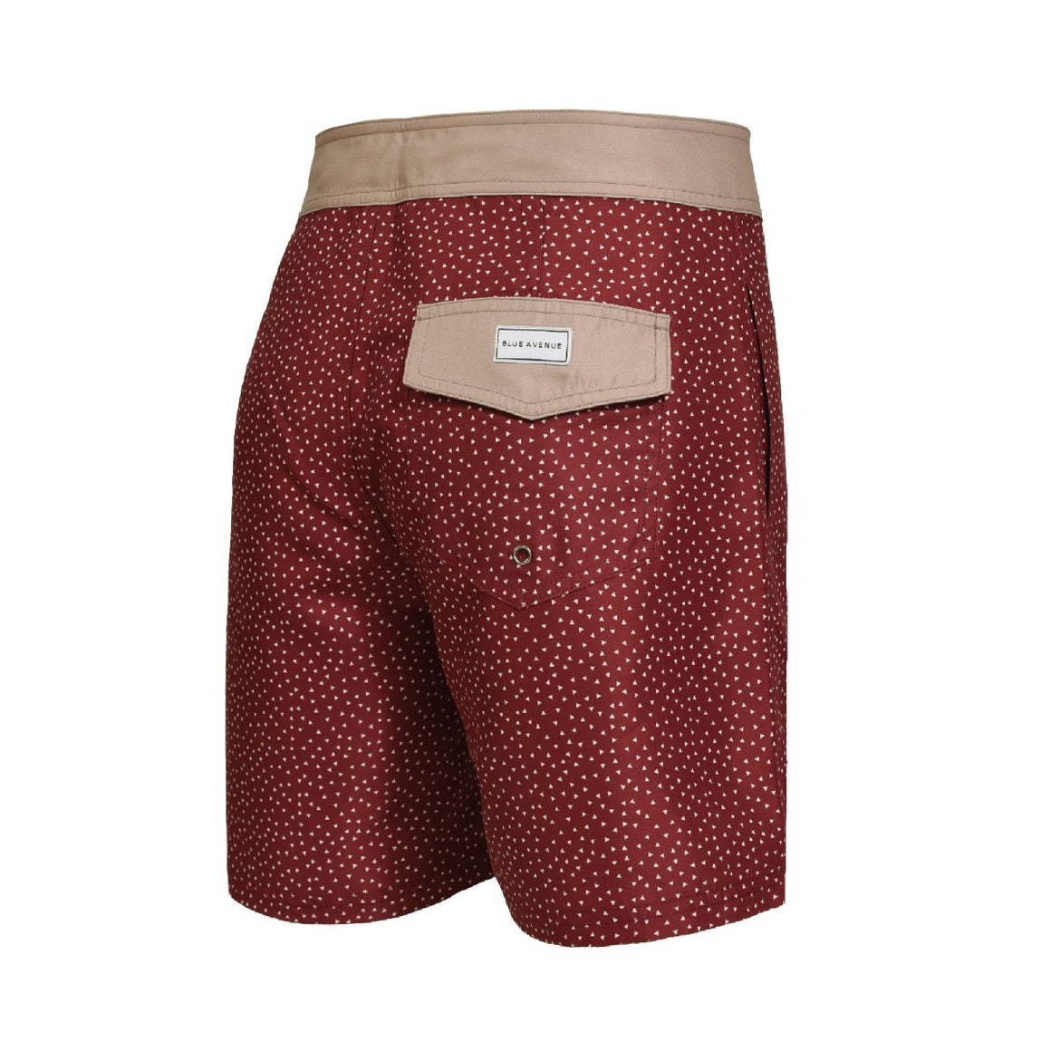 Barney Paper Planes Bordeaux swim shorts - Blue Avenue
