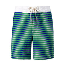 Surfer Striped Green Blue