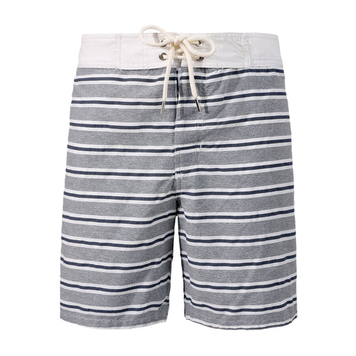 Surfer Striped Grey Blue