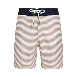 Barney Formentera Stripped Swim Shorts - Blue Avenue