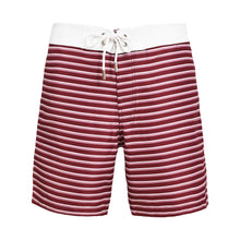 Barney Striped Bordeaux