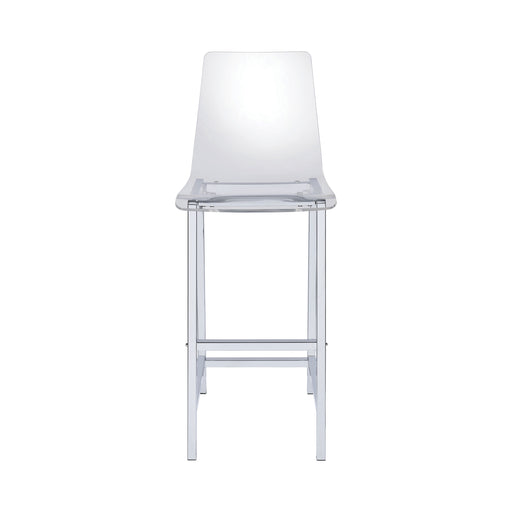 Clear Acrylic Bar Stool - Canales Furniture