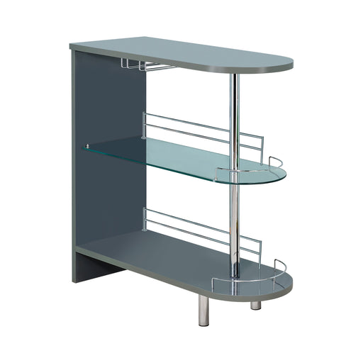 Glossy Bar Unit - Canales Furniture